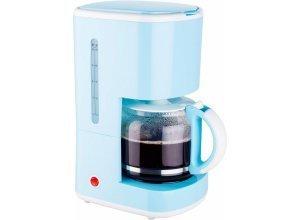 bestron Filterkaffeemaschine ACM300EVB, 1,5l Kaffeekanne, Permanentfilter 1x4, blau