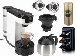Senseo Kaffeepadmaschine SENSEO® Switch HD7892/00, Papierfilter, weiß