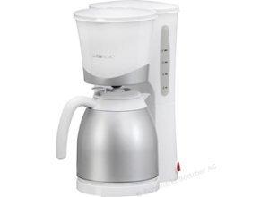 Clatronic KA 3327 Kaffeemaschine weiß Thermoskanne