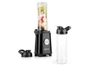 KLARSTEIN Mixer Smoothie Maker 600ml klein Blender BPA Frei Zerkleinerer »Tuttifrutti«, schwarz