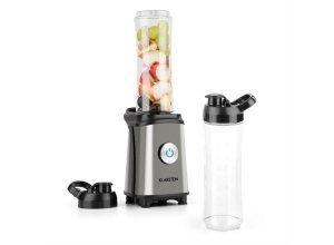 KLARSTEIN Mixer Smoothie Maker 600ml klein Blender BPA Frei Zerkleinerer »Tuttifrutti«, grau