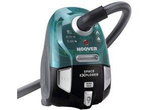 Hoover Bodenstaubsauger SL70PET, 550 Watt, beutellos, grün