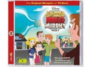 Kiddinx Hörbücher CD »Disney - Milo Murphy - Folge 2«