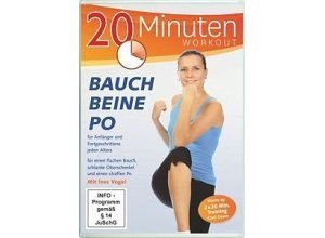 DVD »20 Minuten Workout - Bauch, Beine, Po«