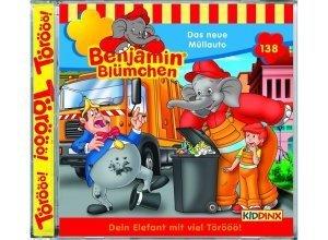 Kiddinx Hörbücher CD »Benjamin Blümchen - Das neue Müllauto (138)«