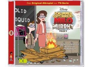 Kiddinx Hörbücher CD »Disney - Milo Murphy - Folge 3«