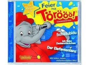 Kiddinx Musik-CD »Benjamin Blümchen - Feier mit Törööö! Sondereditio«