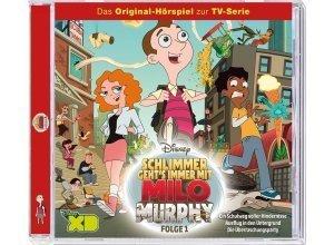 Kiddinx Hörbücher CD »Disney - Milo Murphy - Folge 1«