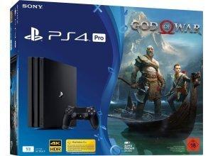 PS4 Pro 1TB (Konsolen-Bundel, inkl. God of War), schwarz