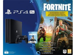 PlayStation 4 Pro 1TB (Konsolen-Bundel, inkl. Fortnite), schwarz