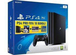 PlayStation 4 Pro 1TB (Konsolen-Bundle, inkl. FIFA 18), schwarz