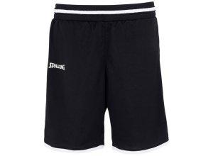 Spalding Move Shorts Kinder, schwarz