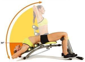 Ganzkörper-Fitnessgerät, Wonder Core 2, silberfarben