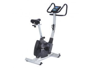 Durate Cardiobike Home Trainer Exercise Bike 4 kg Pulse Computer Silver