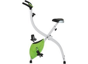 VITALmaxx Heimtrainer, weiß-grün, »Fitness Bike«, weiß