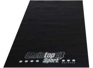 Christopeit Sport® Bodenschutzmatte, schwarz