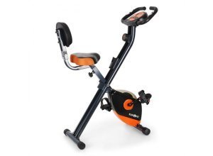 X-Bike 700 Fahrrad-Heimtrainer Ergometer Pulsmesser Klappbar 100 kg orange