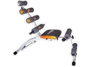Ganzkörper-Fitnessgerät Heimtrainer, Wonder Core, silberfarben