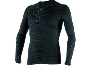 Dainese D-Core Thermo S16 Funktionsshirt lang Herren - Schwarz/Grau - L