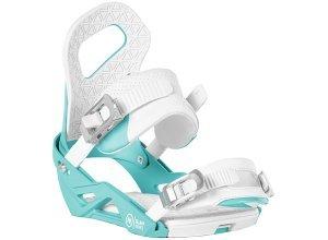 Nidecker Glam - Snowboard Bindung für Damen - Weiß (blue)
