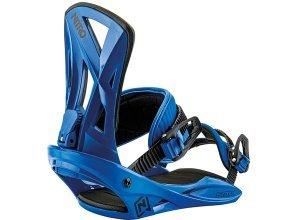 Nitro Staxx - Snowboard Bindung für Herren - Blau (bright blue)