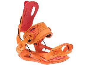 SP Ft270 Snowboard Bindung - Orange (orange/red)