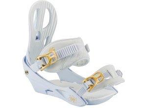 Nitro Rythm - Snowboard Bindung für Damen - Weiß (white gold)