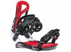 Roxy Snowboards Team - Snowboard Bindung für Damen - Schwarz (black)