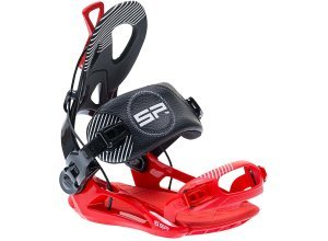 SP Private FT Snowboard Bindung - Rot (red/black)