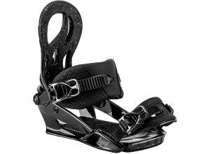 Nitro Lynx - Snowboard Bindung für Damen - Schwarz (black chrome)