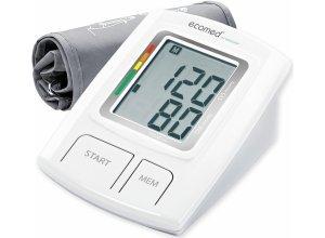 Medisana OA-Blutdruckmessgerät BU-92E,plus Promed Fieberthermometer PFT-3.7 gratis, weiß