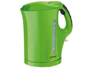 BOMANN Wasserkocher mit Edelstahlheizelement und Soft-Touch-Griff »WK 5011 CB«, grün