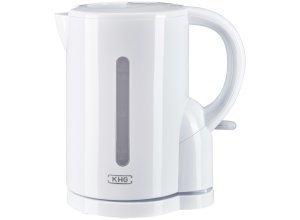 KHG Wasserkocher - weiß - Metall, Kunststoff - 21,5 cm - 23 cm - 14 cm - Sconto