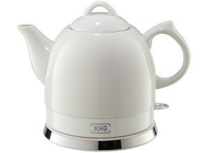 KHG Keramik-Wasserkocher WK-080K (W) - weiß - Kunststoff, Metall, Keramik - 25 cm - 19 cm - 15 cm - Sconto