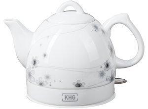KHG Keramik-Wasserkocher WK-080K (D) - weiß - Kunststoff, Metall, Keramik - 25 cm - 19 cm - 15 cm - Sconto