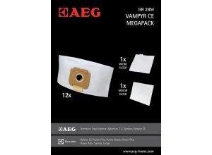 AEG Staubsaugerbeutel Gr28 M für Vampyr CE, CE PW24TRE