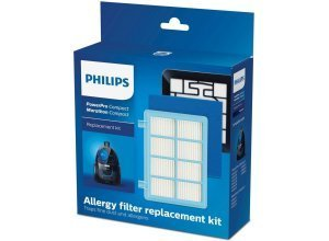 Philips Staubsauger Filter-Set FC8010/01 PowerPro Compact