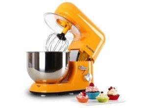 KLARSTEIN Küchenmaschine Knetmaschine Rührmaschine mit Zubehör 5 Liter »Bella«, orange