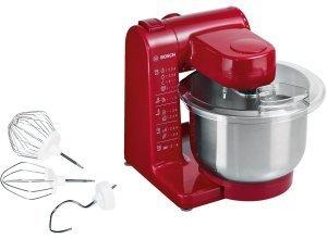 Bosch Küchenmaschine »MUM44R1«, 4 Stufen, 500 Watt, rot
