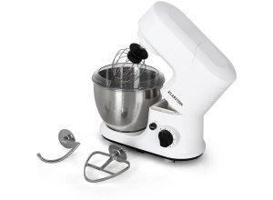 KLARSTEIN Küchenmaschine Rührmaschine Knetmaschine 4 Liter mit Zubehör »Carina «, weiß