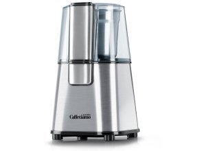 Arendo Kaffeemühle mit 2- und 4-fach Messereinsatz »Küchenmaschine mit Edelstahl Schlagmesser«, silberfarben