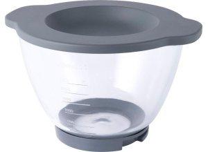 Kenwood Glas-Rührschüssel Chef AT550 für Kenwood Küchenmaschinen der Chef Modelle, weiß