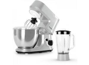 Carina Argentea Set 800W Küchenmaschine plus 1,5L Blender Krug