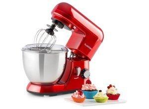 KLARSTEIN Mini-Küchenmaschine Rührgerät Knetmaschine Küchenhelfer 1,1PS 4L »Bella Picco«, rot
