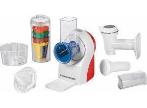 GOURMETmaxx Zerkleinerer GOURMETmaxx Küchenmaschine 3in1 150W weiß, 150 W, 150 Watt, weiß
