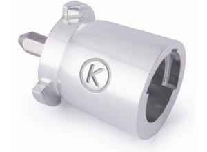 KENWOOD Küchenmaschinen-Adapter KAT002ME, für Zubehör, silberfarben
