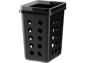VARIERA, Abfalltrennbehälter, belüftet, schwarz