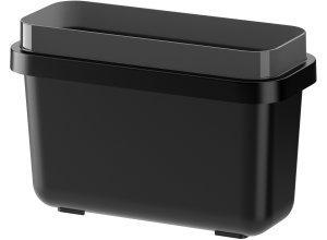 VARIERA, Behälter für Abfalltrennung, schwarz