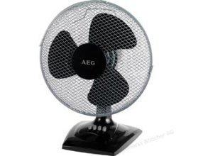 AEG Ventilator VL 5529, 520029, schwarz, Tischventilator, Ø 30cm
