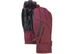 Burton Baker 2 In 1 Under - Snowboard Handschuhe für Damen - Rot (sangria)